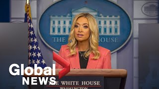 White House press secretary talks COVID-19 response, defends Trump tweets about mail-in ballots|FULL