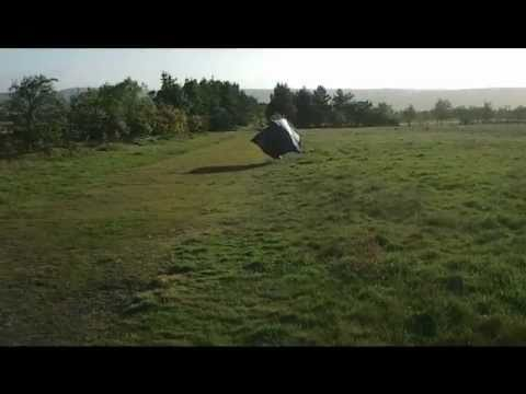 Fly Away Tent & ? Fly Away Tent - YouTube