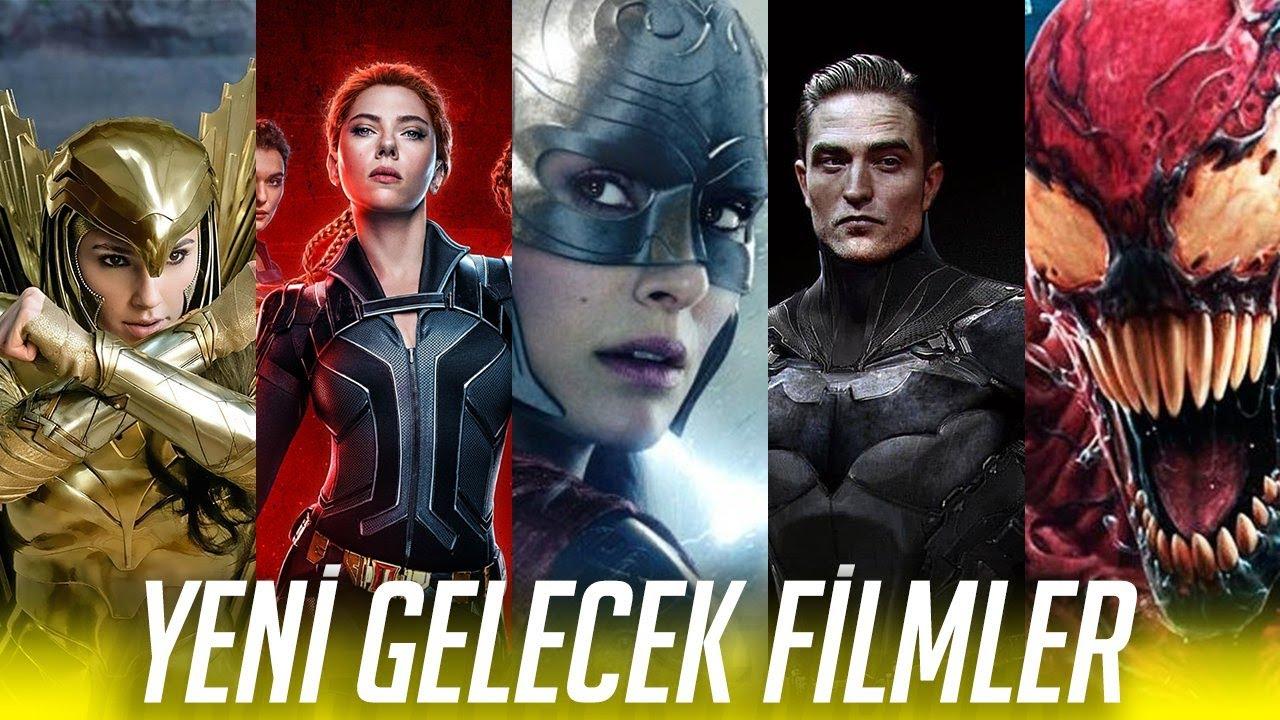 YENİ Gelecek MARVEL&DC Filmleri! - 2020/2022