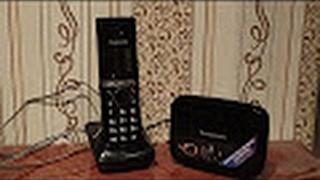 Шолу Қалалық Радиотелефон Panasonic KX-TG8081RUB - [© Шолулар