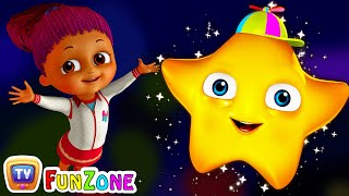 Twinkle Twinkle Little Star - Nursery Rhymes Songs for Children | ChuChu TV Funzone 3D for Kids thumbnail