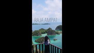 RAJA AMPAT! (Vertical Video)