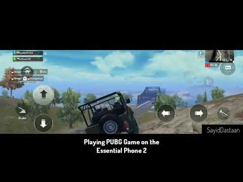 Playing PUBG in ESSENTIAL PHONE 2 (32:9 Aspect Ratio) | SayidDastaan