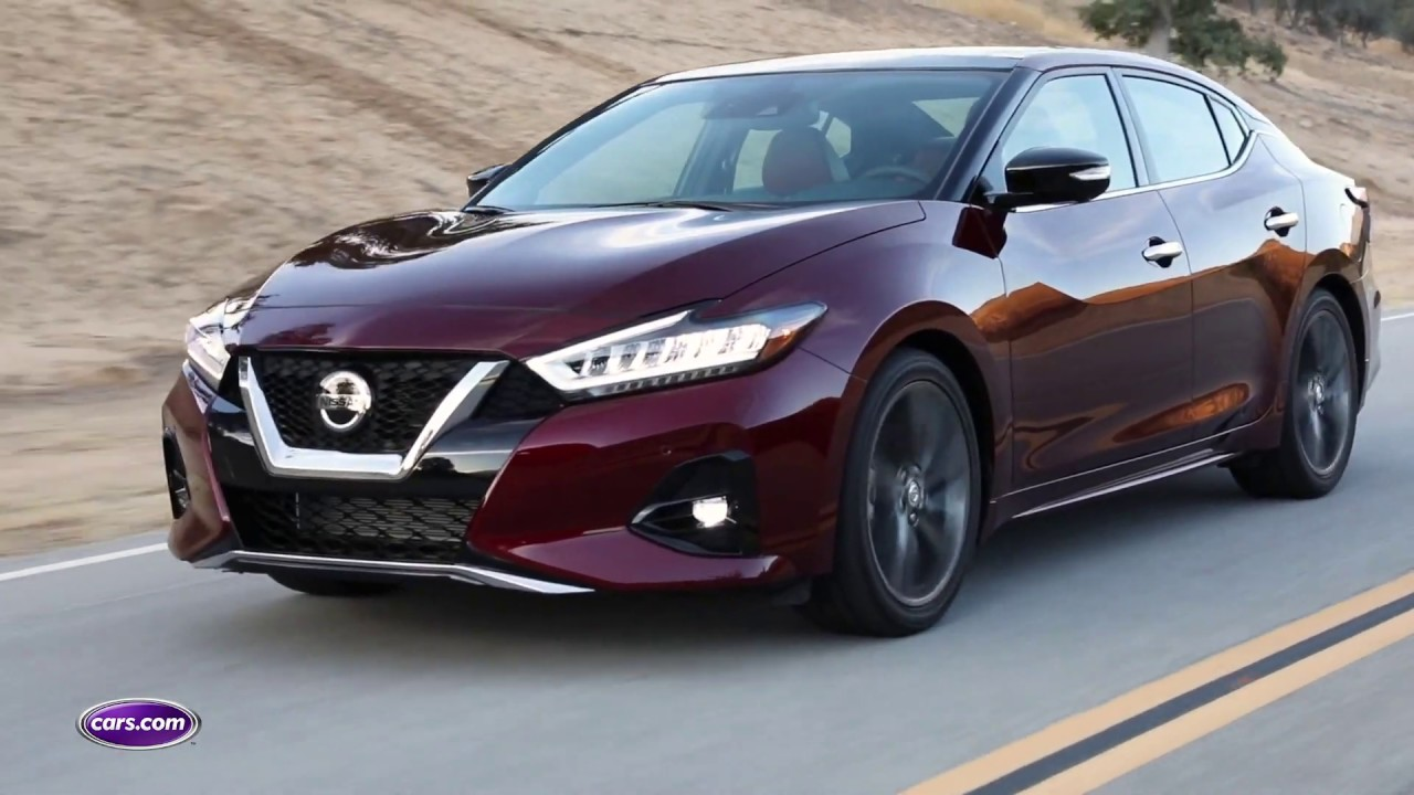 2019 Nissan Maxima First Look Cars Com Youtube