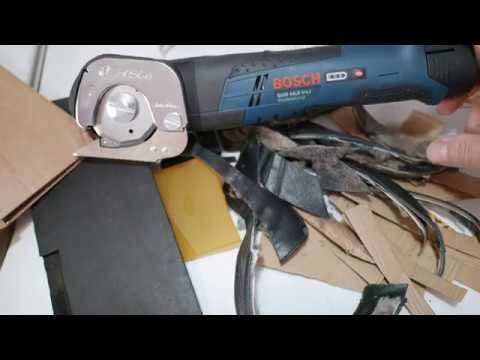 Дисковые аккумуляторные ножницы BOCSH 10.8 V-Li Professional.