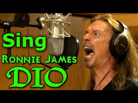 How To Sing Ronnie James Dio Songs - Ken Tamplin Vocal Academy - Vocal Coach - Singing Lesson