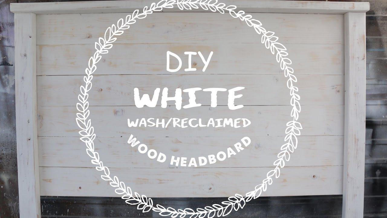 Easy Diy Wood Headboard For Under 40 Youtube