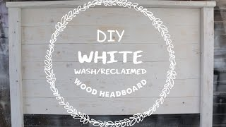 EASY DIY WOOD HEADBOARD FOR UNDER $40