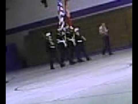 Mountain Grove High School MC JROTC Drill Team - Color Guard B pt 4