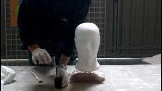 modelo poliestireno plastificado