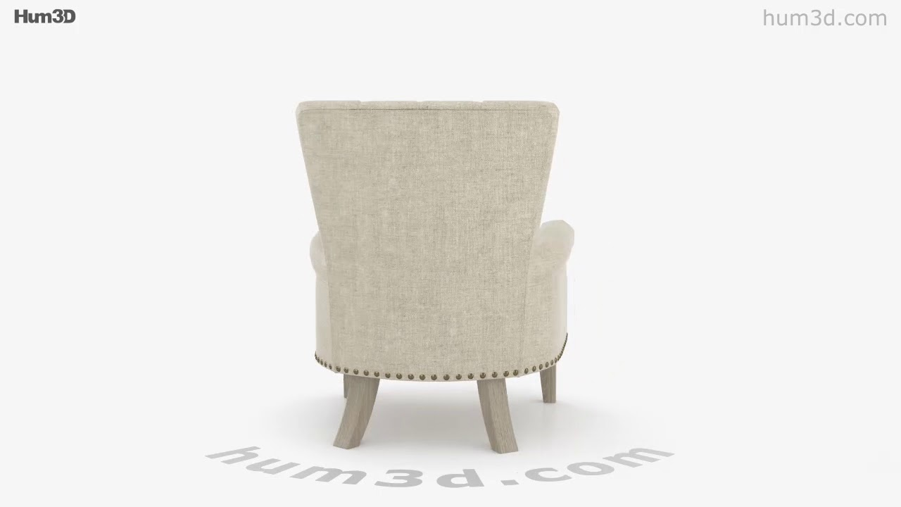 Better Homes And Gardens Accent Chair 3d Model By Hum3dcom Youtube