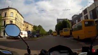 Майские покатушки во Львов на мотциклах Lifan LF 250-3А & Zongshen ZS 150-K