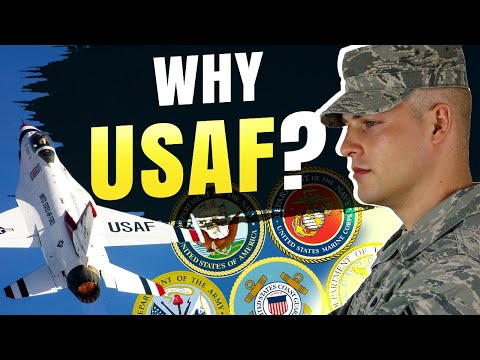 Why I joined the Air Force over other branches - #KGDT 020