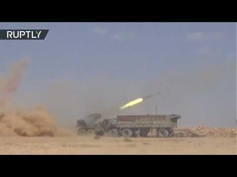 El Ejército de Siria prosigue la expulsión del Estado Islámico