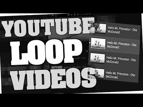 How to replay Youtube videos automatically 2018 (Loop on PC & Android app)