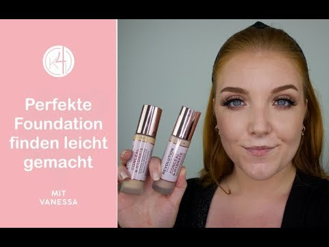 Untertöne erkennen | Perfekte Foundation Farbe | Makeup Revolution Conceal & Hydrate Foundation from YouTube · Duration:  14 minutes 18 seconds