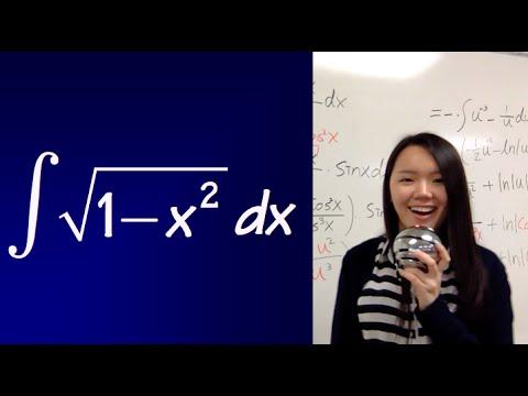 integral of sqrt(1-x^2)