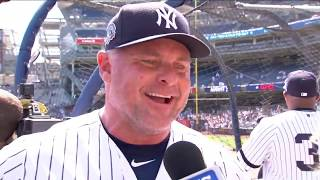 Jason Giambi on what Old-Timers' Day means to him