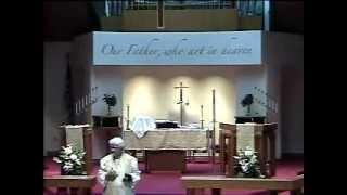 01-11-2015.wmv - Gloria Dei Lutheran Church Sermon - Pastor Vicki Garber