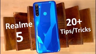Realme 5 20+ Tips and Tricks