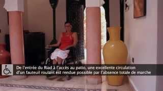 Riad Tarzout Marrakech Médina, adaptée et accessible aux PMR www.riad-tarzout.com