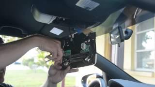 Installing MKVI VW LED interior lighting kit with license plate for Golf R