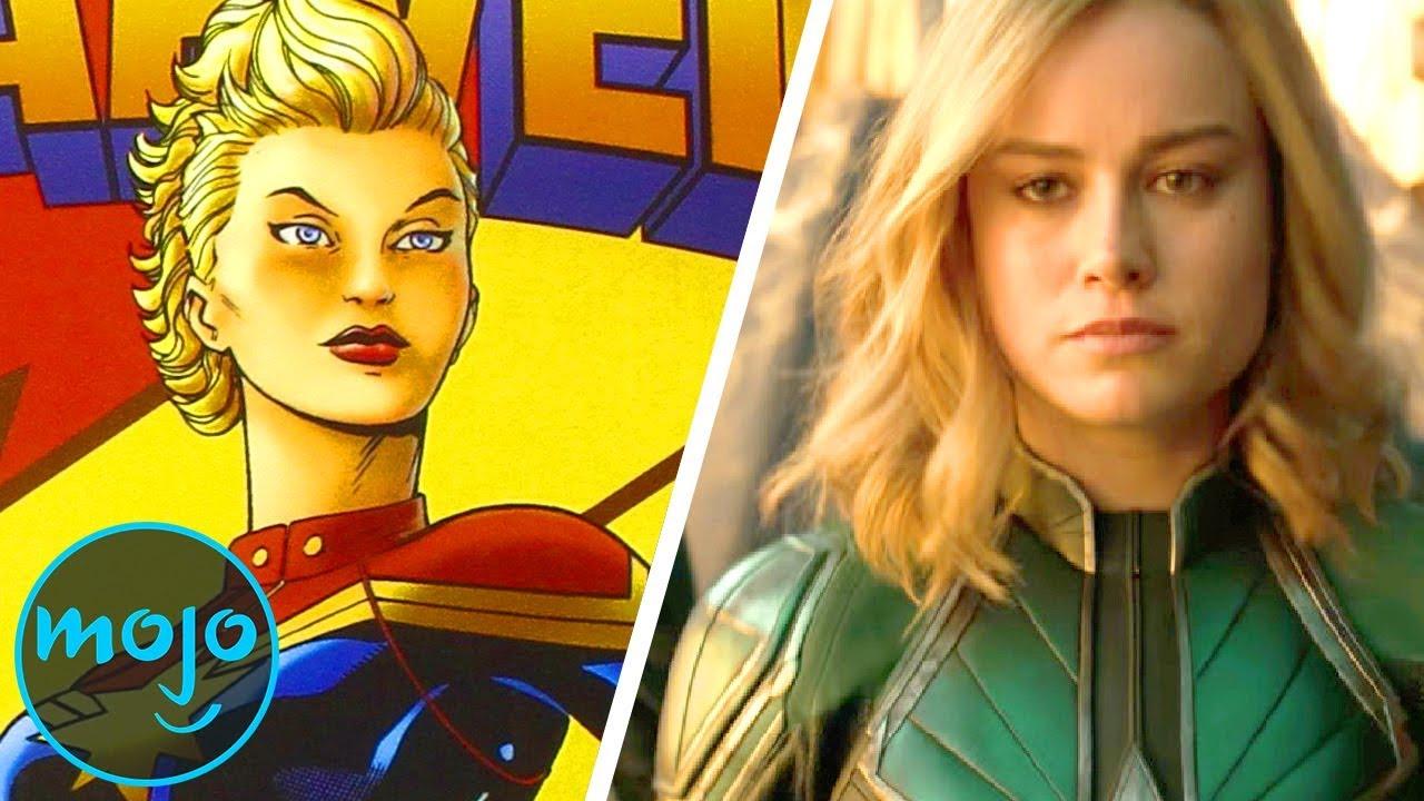 Superhero Origins: Captain Marvel (Carol Danvers)