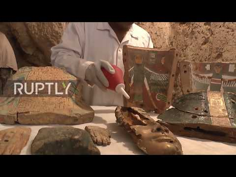 Egypt: Archaeologists discover 3,500 year old tombs in Luxor