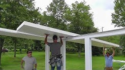 Roof Series #2 : Mounting Roof Panels