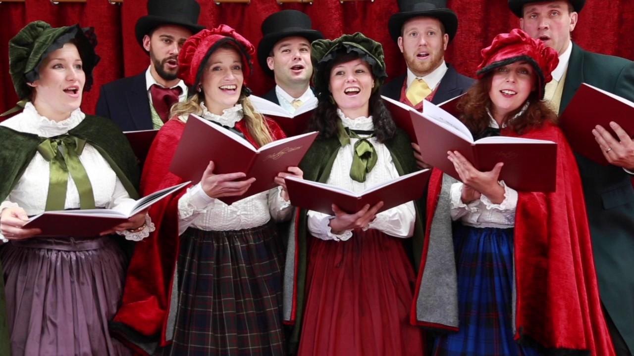 Victorian Carol Singing Choir Youtube