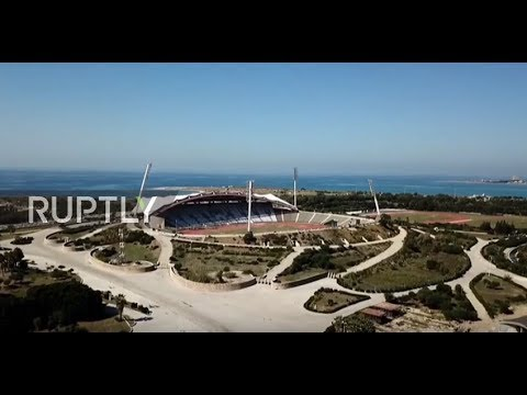 Syria: Restoration of Latakia stadium nearly complete after housing just under 6,000 refugees