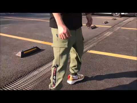 American Retro Casual Street Harem Pants