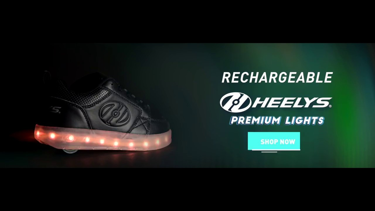 Heelys Premium Lights - YouTube