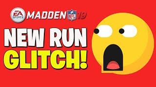 NEVER PASS AGAIN WITH THIS NEW RUN GLITCH!! MADDEN 19 TIPS