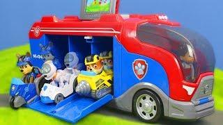 Paw Patrol Unboxing: Mission Cruiser für Feuerwehrmann Marshall & Chase | Video für Kinder deutsch