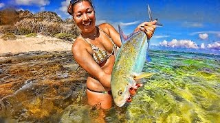 Fun Papio Omilu Hawaii Fishing