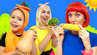 Vegetables Song - So Yummy! | Nursery Rhymes and Kids Songs