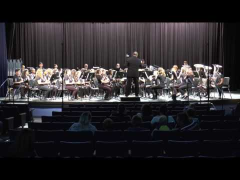 Performance by Oakleaf Junior High School at the 2017 Band Music Performance Assessment