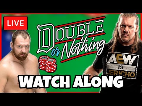 🔴 AEW Double Or Nothing LIVE STREAM Watch Along