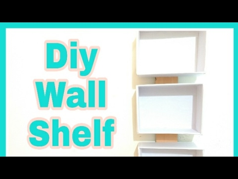 Diy Wall Shelf Cardboard