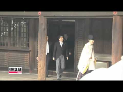 Reasons behind Abe's visit to the Yasukuni Shrine