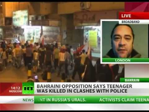 Bahraini OPPOSITION says teenager was KILLED in clashes with police in the capital MANAMA
