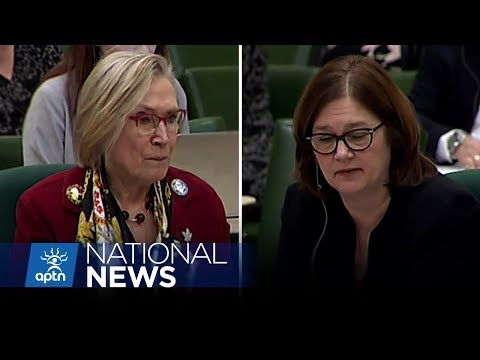 Bennett and Philpott appear before the Parliamentary Indigenous Affairs Committee | APTN News