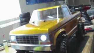 Project Old Gold Axial SCX10 Dingo build vol 2