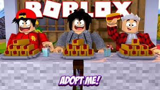 ROBLOX - ADOPT ME HOT-DOG EATING COMPETITION!!