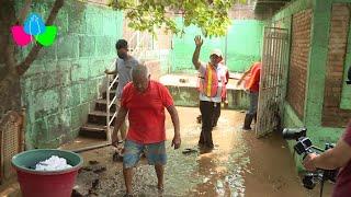ALMA evalúa y acompaña a familias afectadas por las lluvias en Managua