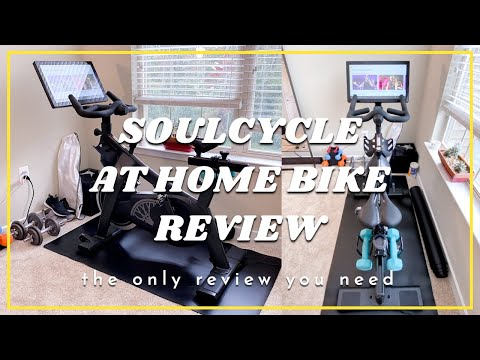 SOULCYCLE AT HOME BIKE REVIEW | Only Review You'll Need To Watch | Accessories, Cost Break Down, Etc