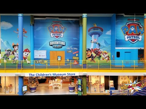 Paw Patrol Adventure Play Exhibit At The Children's Museum Of Indianapolis