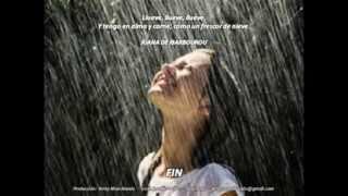 Bajo la lluvia - Juana de Ibarbourou - Poema - Música: Gotas de lluvia