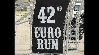 Hells Angels 42nd Euro Run in Jagodina, Serbia (raw footage)